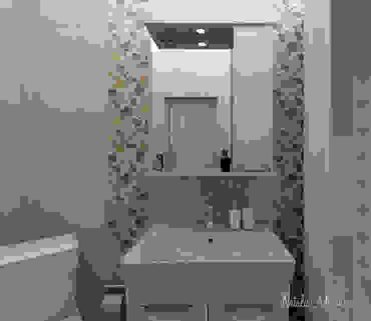 Пастельный шарм Ванная комната в эклектичном стиле от Наталия Миронова Эклектичный