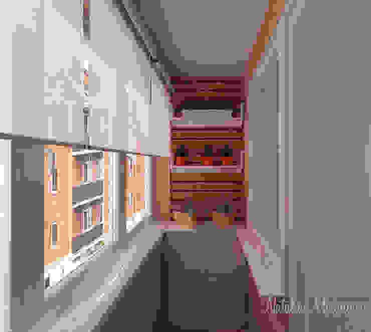 Пастельный шарм Балкон в скандинавском стиле от Наталия Миронова Скандинавский