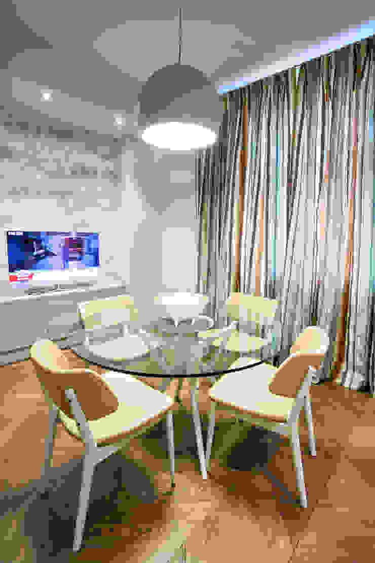 Квартира на Ломоносовском Кухня в средиземноморском стиле от Надежда Каппер Средиземноморский