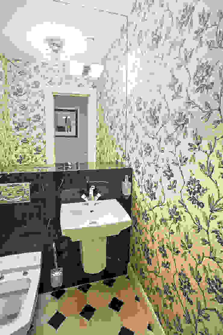 Квартира на Ломоносовском Ванная комната в эклектичном стиле от Надежда Каппер Эклектичный