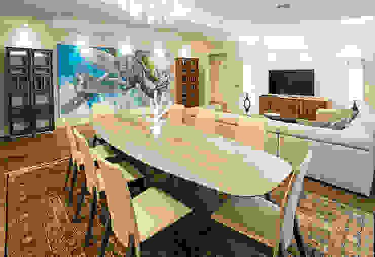 Квартира на Ломоносовском Гостиные в эклектичном стиле от Надежда Каппер Эклектичный