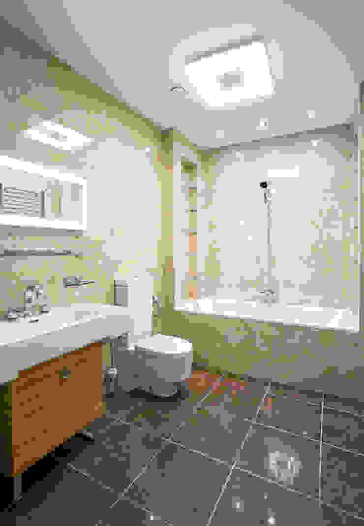 Квартира на Ломоносовском Ванная комната в стиле минимализм от Надежда Каппер Минимализм