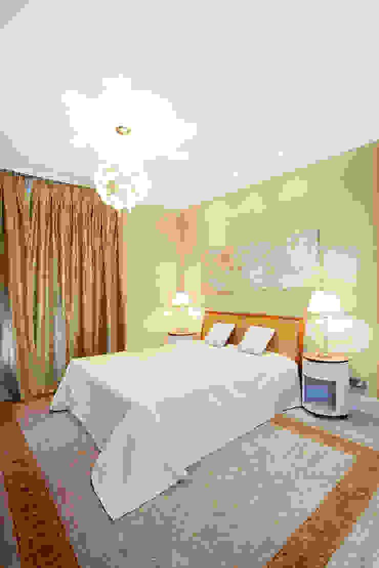 Квартира на Мичуринском Спальня в эклектичном стиле от Надежда Каппер Эклектичный