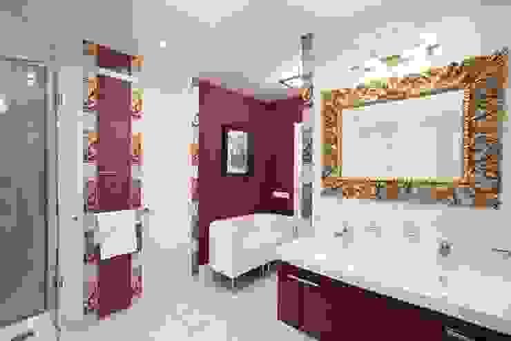 Квартира на Мичуринском Ванная комната в эклектичном стиле от Надежда Каппер Эклектичный