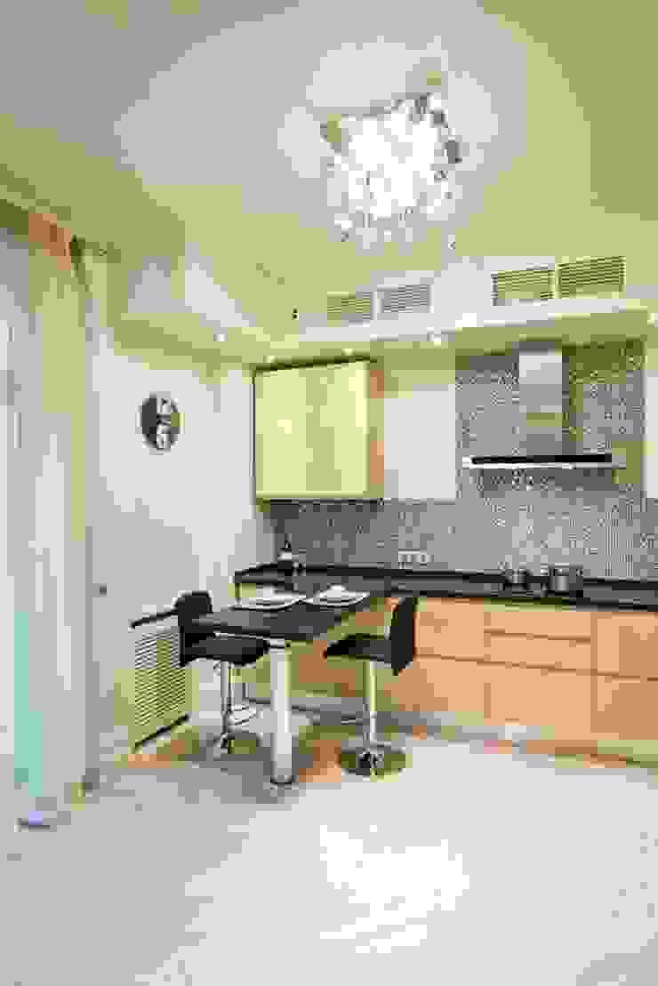 Квартира на Мичуринском Кухня в стиле минимализм от Надежда Каппер Минимализм