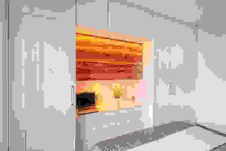 Meble na wymiar do sypialni - 3TOP: styl , w kategorii  zaprojektowany przez 3TOP,Nowoczesny