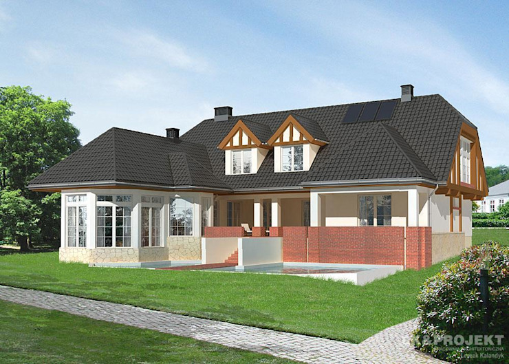 Classic style houses by LK & Projekt Sp. z o.o. Classic