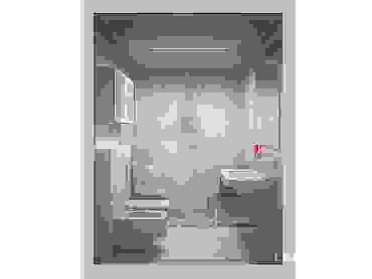 LK&700 łazienka Klasyczna łazienka od LK & Projekt Sp. z o.o. Klasyczny