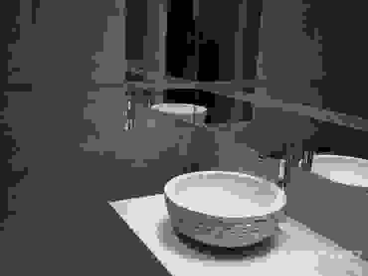 LK&700 łazienka Nowoczesna łazienka od LK & Projekt Sp. z o.o. Nowoczesny