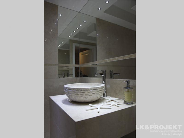 Modern Bathroom by LK & Projekt Sp. z o.o. Modern