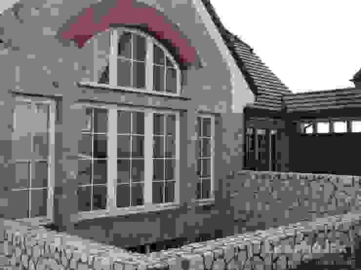 LK&700 realizacja Klasyczne domy od LK & Projekt Sp. z o.o. Klasyczny
