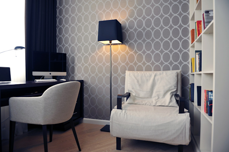 Кофе с молоком Спальня в классическом стиле от Котова Ольга Классический