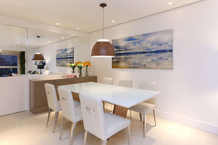 Now Arquitetura e Interiores Modern Dining Room