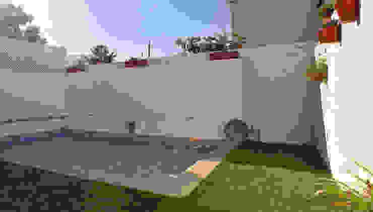 BALLESTEROS BLANCA ARQUITECTURA Y CONSTRUCCION Modern Garden