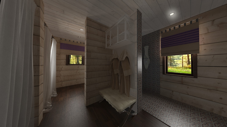 Country style bathroom by Artscale Country