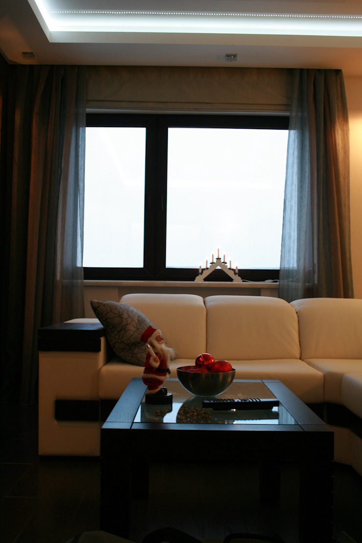 Квартира в современном стиле Гостиная в стиле минимализм от Artscale Минимализм