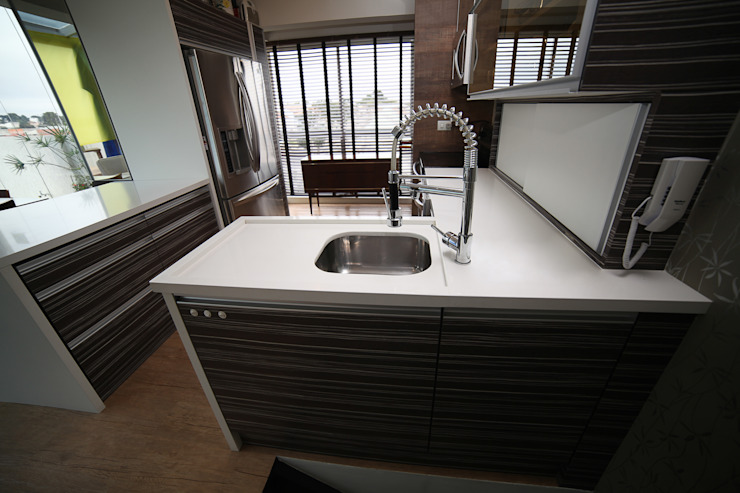 Modern Kitchen by Grupo DH arquitetura Modern
