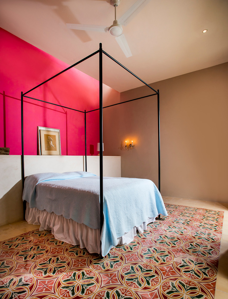 Colonial style bedroom by Taller Estilo Arquitectura Colonial