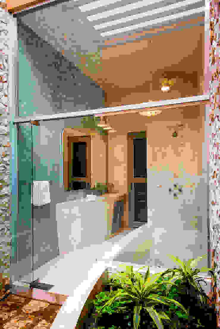 Koloniale Badezimmer von Taller Estilo Arquitectura Kolonial