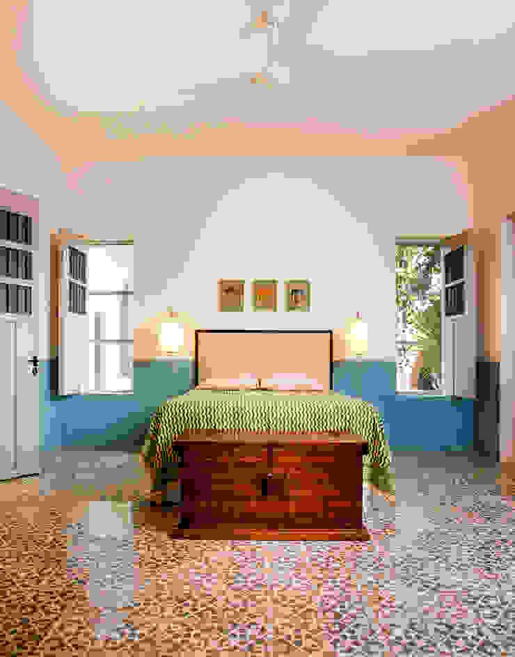 Koloniale Schlafzimmer von Taller Estilo Arquitectura Kolonial