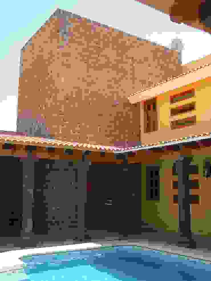 Casa de descanso fl Casas coloniales de IPALMA ARQUITECTOS Colonial
