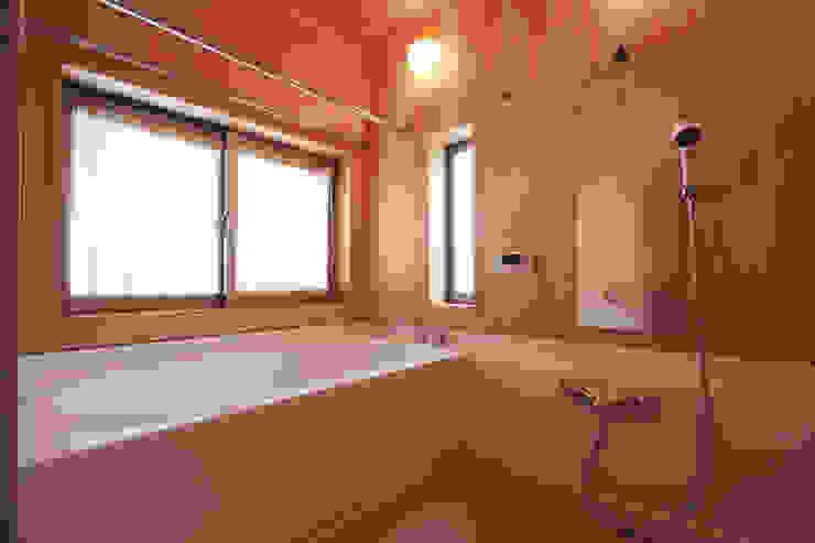 浴室 和風の お風呂 の 加藤一高建築設計事務所 和風