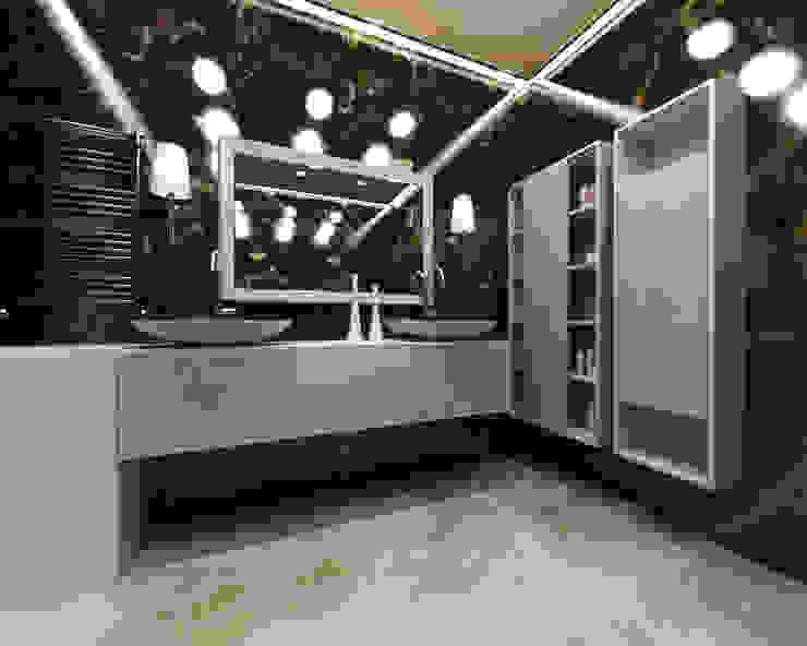 Ванная комната в скандинавском стиле от homify Скандинавский