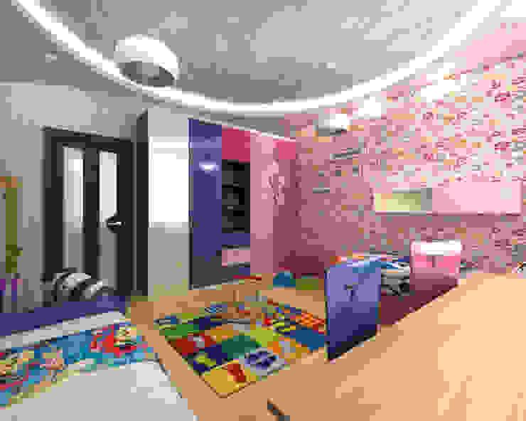 Детская комнатa в скандинавском стиле от homify Скандинавский