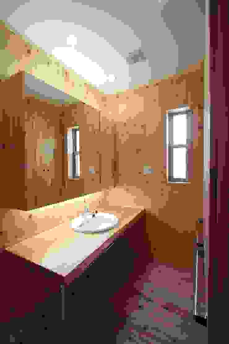 洗面脱衣室 和風の お風呂 の 加藤一高建築設計事務所 和風