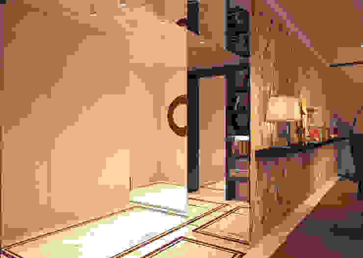 Коридор, прихожая и лестница в эклектичном стиле от homify Эклектичный