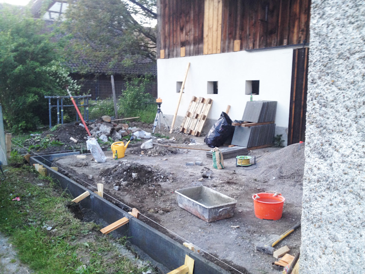 Umbau und Sanierung EFH Kirchstrasse 5 in Gächlingen SH von Raumtakt GmbH