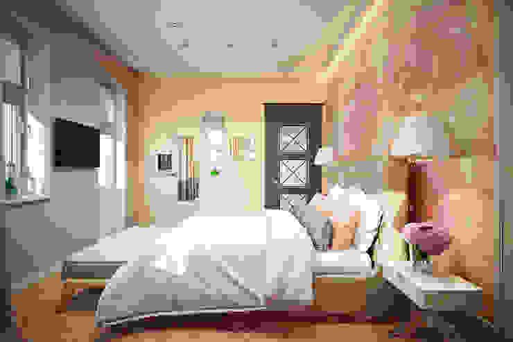 легкая классика Спальня в классическом стиле от Арт-мастерская 'РЕПЛИКА' Классический