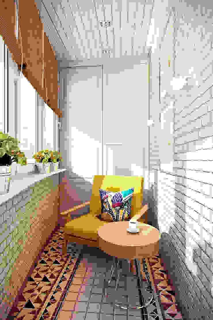 легкая классика Балкон и терраса в классическом стиле от Арт-мастерская 'РЕПЛИКА' Классический