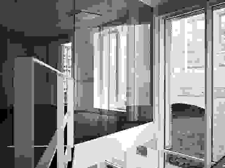Empereur Couloir, entrée, escaliers originaux par architectes assoc. Éclectique