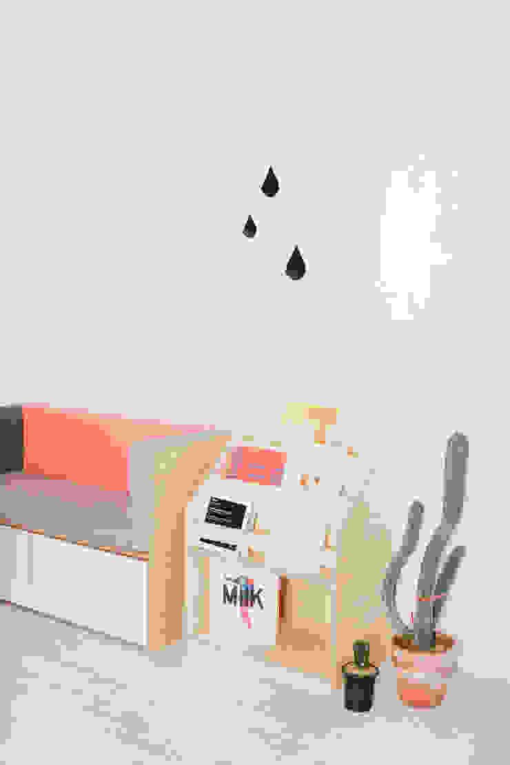 box sofa / book shelf: wie ein KINO의 현대 ,모던