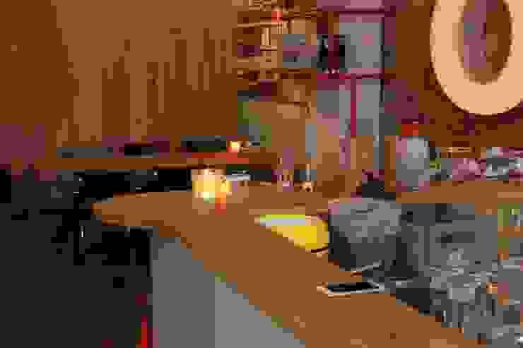 Interieur Borrel en Eetbar 'De Winkel' Oss Industriële gastronomie van Samosa 'Ontwerp op Maat' Industrieel