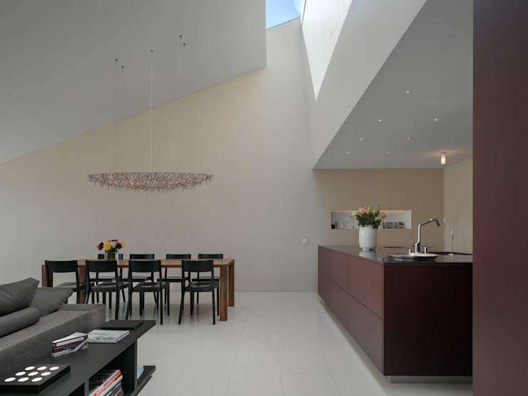 Stadtvillen Adligenswilerstrasse Luzern Moderne Esszimmer von alp - architektur lischer partner ag Modern