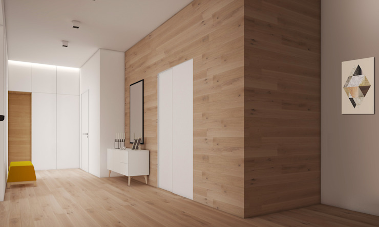 Апартаменты #5 Гардеробная в стиле минимализм от Zikzak architects Минимализм