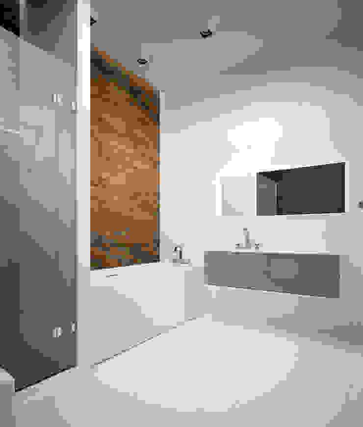 Апартаменты #5 Ванная комната в стиле модерн от Zikzak architects Модерн