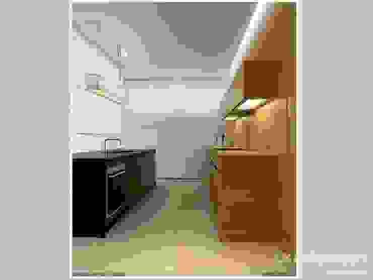 Nhà bếp phong cách hiện đại bởi LK & Projekt Sp. z o.o. Hiện đại
