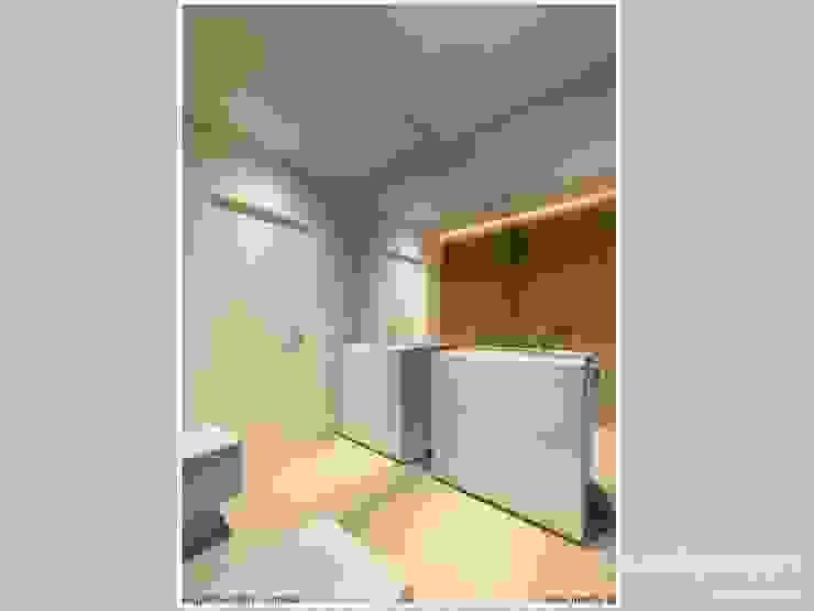 Phòng tắm phong cách hiện đại bởi LK & Projekt Sp. z o.o. Hiện đại