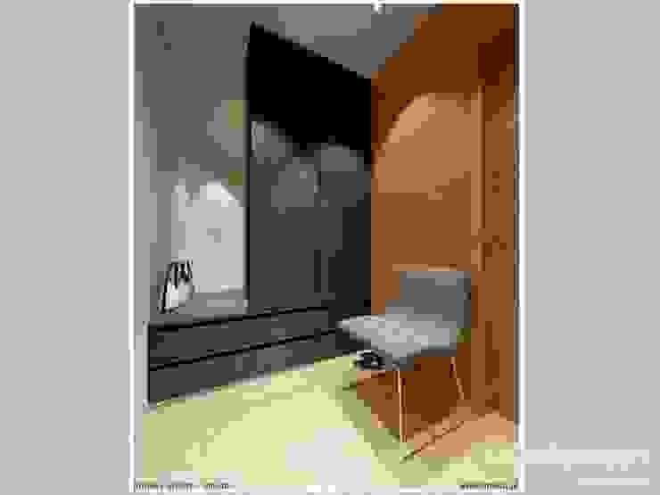 Phòng thay đồ phong cách hiện đại bởi LK & Projekt Sp. z o.o. Hiện đại