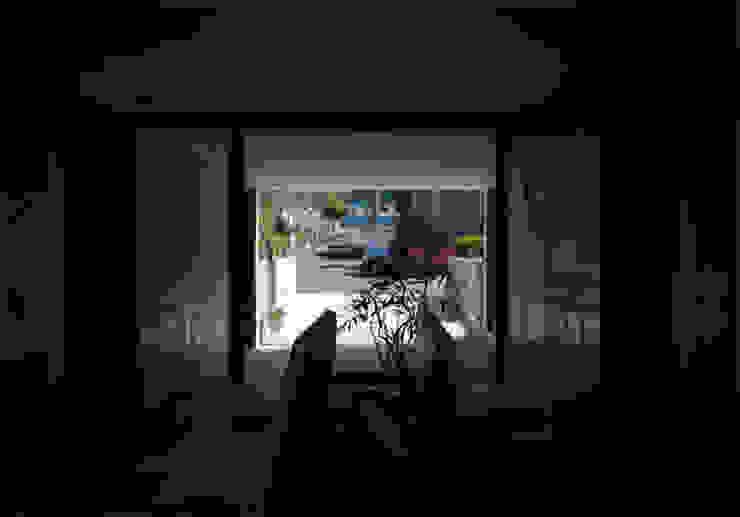 Modern media room by 畠中 秀幸 × スタジオ・シンフォニカ有限会社 Modern