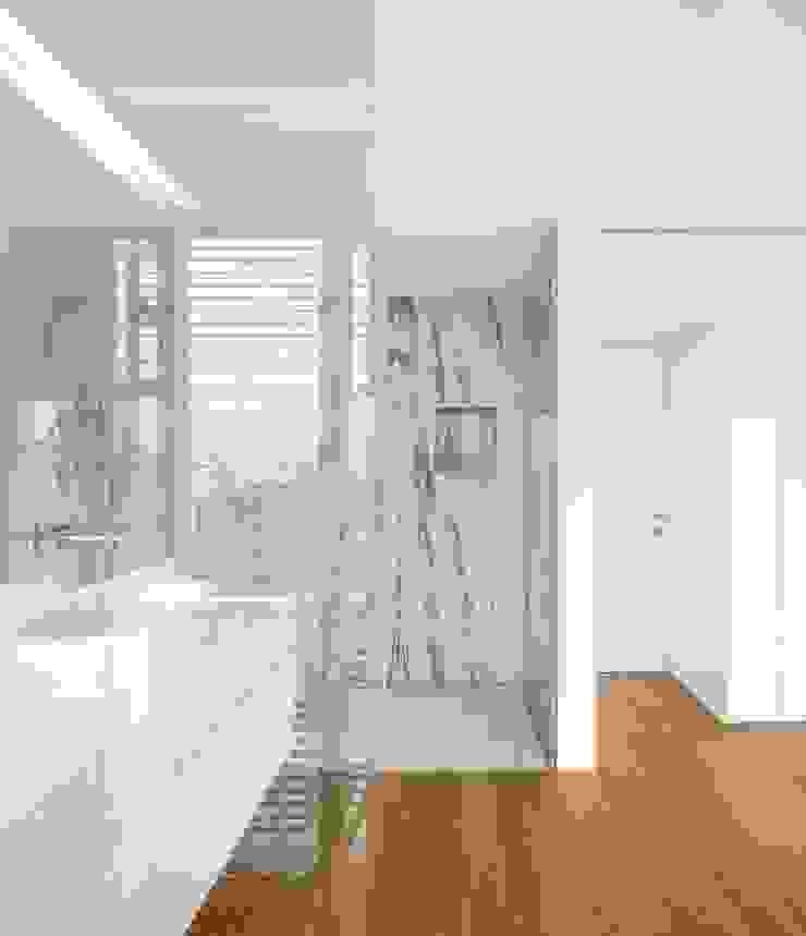 Lapa Building Minimalist style bathrooms by João Tiago Aguiar, arquitectos Minimalist