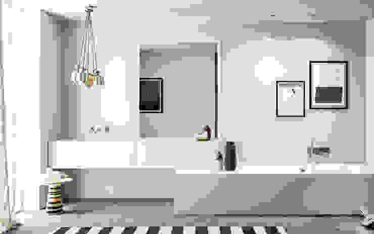 Scandinavian style bathroom by Nova Cucina Scandinavian