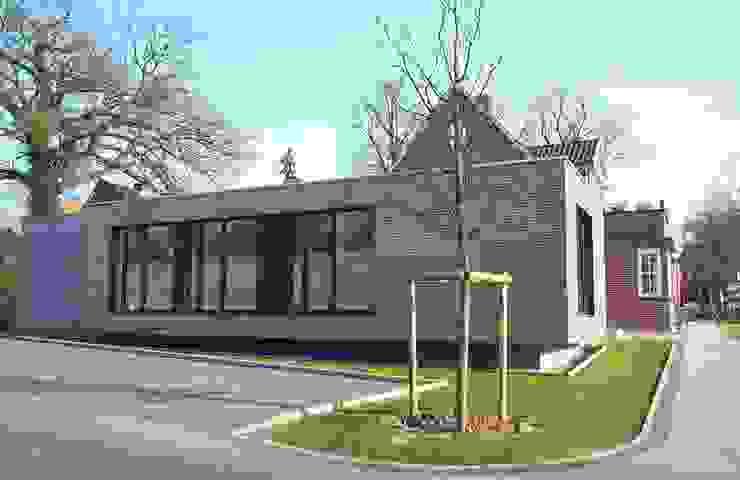 Ansicht Neubau 2 Architekturbüro Griebel Moderne Praxen