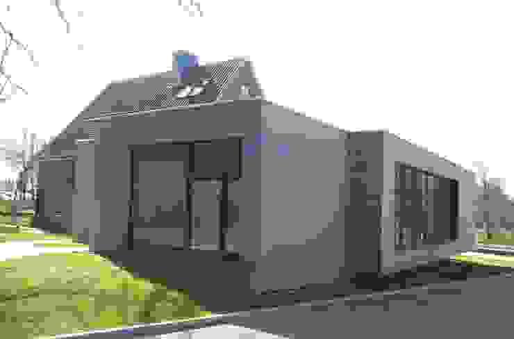 Ansicht Neubau 3 Architekturbüro Griebel Moderne Praxen