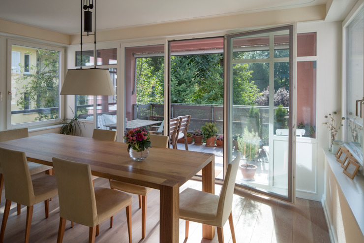 Classic style dining room by Tschander.Keller architekten Classic