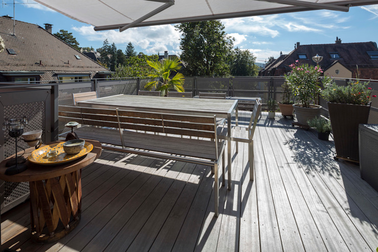 Tschander.Keller architekten Classic style garden