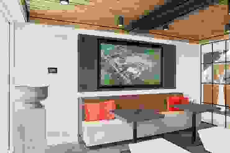 Houten plafond Intermontage Moderne kantoor- & winkelruimten van Intermontage Leurink B.V. Modern